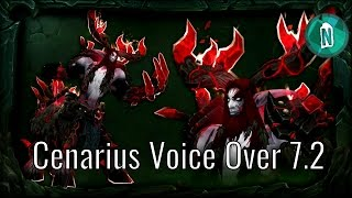 Cenarius Voice Over in Patch 7.2 The Tomb of Sargeras | World of Warcraft Legion