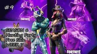 Fortnite-Hunting Party Skin unlock /Season 6 LIVE/ (+Giveaway) #9