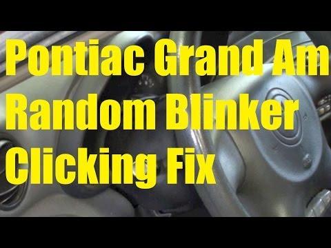 Pontiac Grand Am blinker / signal random clicking fix