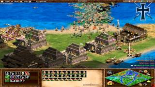 Repeat youtube video Age of Empires II - 55ª Partida Multijugador En Línea - Juan Cruz, Pepito y Fede