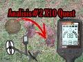 Analisis #2 detector X10 de Quest