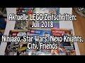 LEGO Magazine Juli 2018 (City, Star Wars, Ninjago, Nexo Knights, Friends)