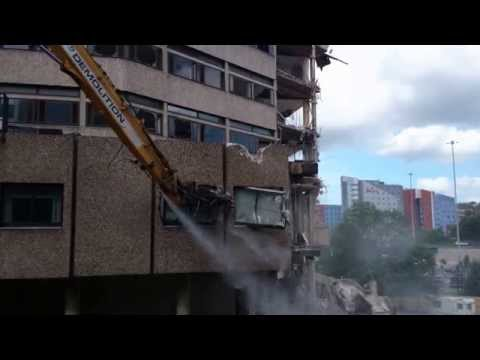 Yorkshire Post Building Demolition #4
