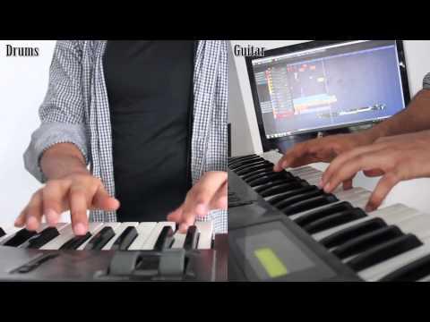 Make metal music one Man, one Band, one Keyboard