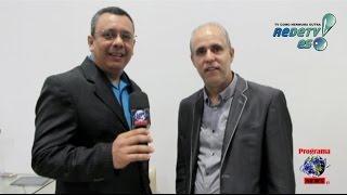 Pastor Claudio Duarte - Estréia do Programa Gospel News Tv Rede Tv Canal 18