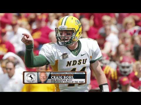 Wyoming HC Craig Bohl on Coaching Carson Wentz | The Dan Patrick Show | 4/3/18