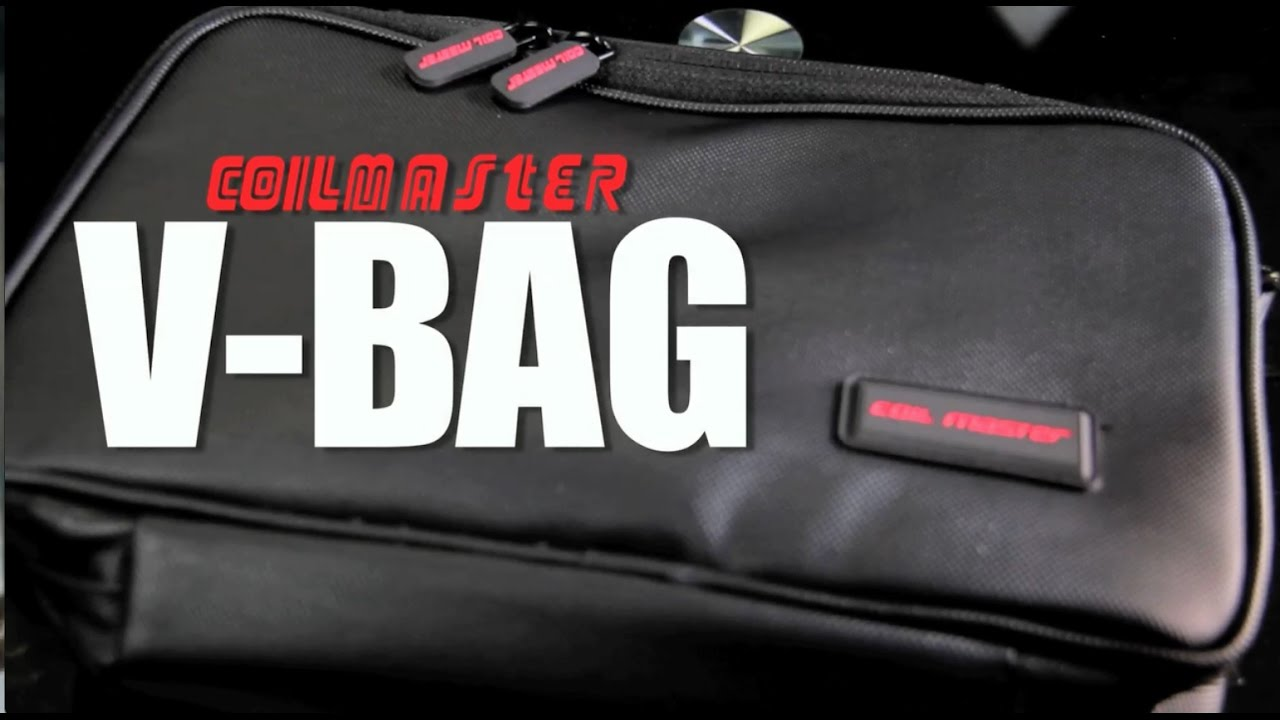 V Bag By Coil Master Travel Vape Device And E Liquid Storage