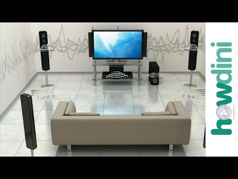 How To Connect a Wireless HDTV & Blu-ray Home Theater System to the ...