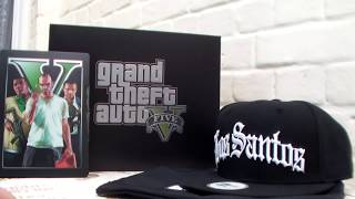 Unboxing GTA V : Grand Theft Auto V Collector Edition (EURO Version)