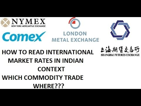 INTERNATIONAL COMMODITY MARKET AND ITS RATES AND EFFECT ON INDIAN MARKET DATE 02 NOV 2016