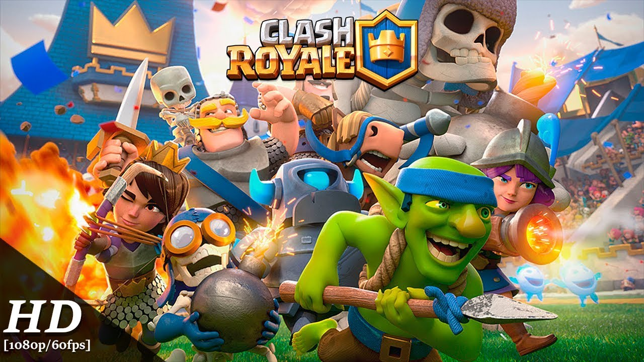 android oyun clup clash royale