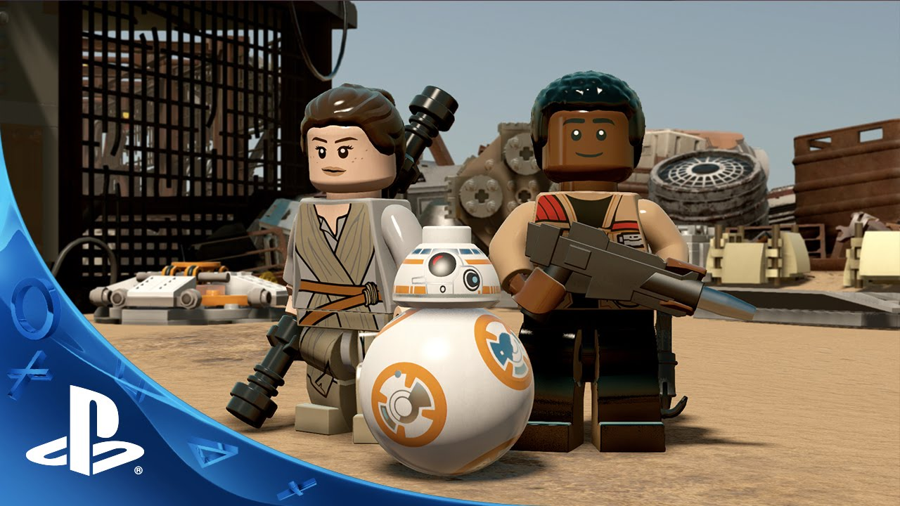 Lego Star Wars The Force Awakens Gameplay Reveal Trailer Ps4