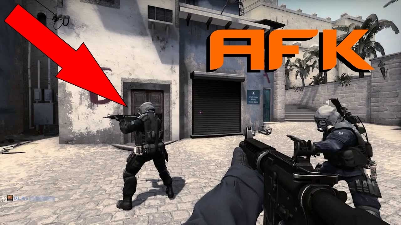 How to go AFK on CS:GO Without Being Kicked!!! (Works in Competitive  MatchMaking)