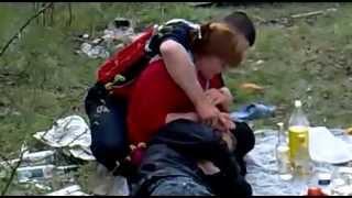 Пьянка молодежи на природе(Молодежь пирует и развлекается на природе, гробит технику.., 2013-04-05T09:53:03.000Z)