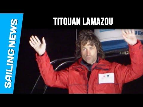 Tatouan Lamazou, winner of the Globe Challenge in 1990