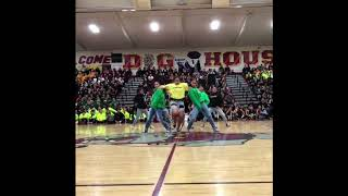 MUST WATCH ! Cardi B's Bartier Cardi Makes High School Dance Rally so Hype