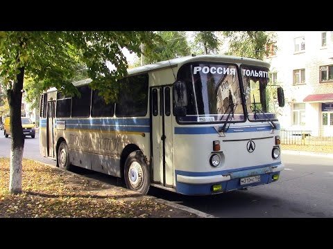 Обзор городского автобуса ЛАЗ 695Н г Тольятти