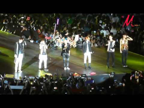 130330 EXO-M - Angel+Talk+Open Arms+History @ Super Joint Concert In Thailand By Monkey Junior