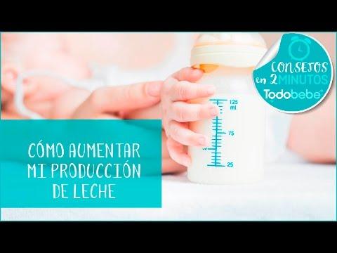 Cómo aumentar mi producción de leche (tips y consejos) | Todobebé