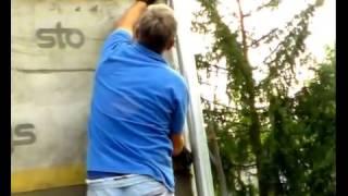 Армирование сеткой. Утепление фасада дома. Короед. Декоративная штукатурка Москва(, 2013-08-29T16:50:40.000Z)