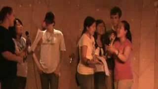 clv 2008 class 1 singing beijing huan ying ni