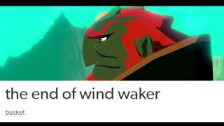 the end of wind waker