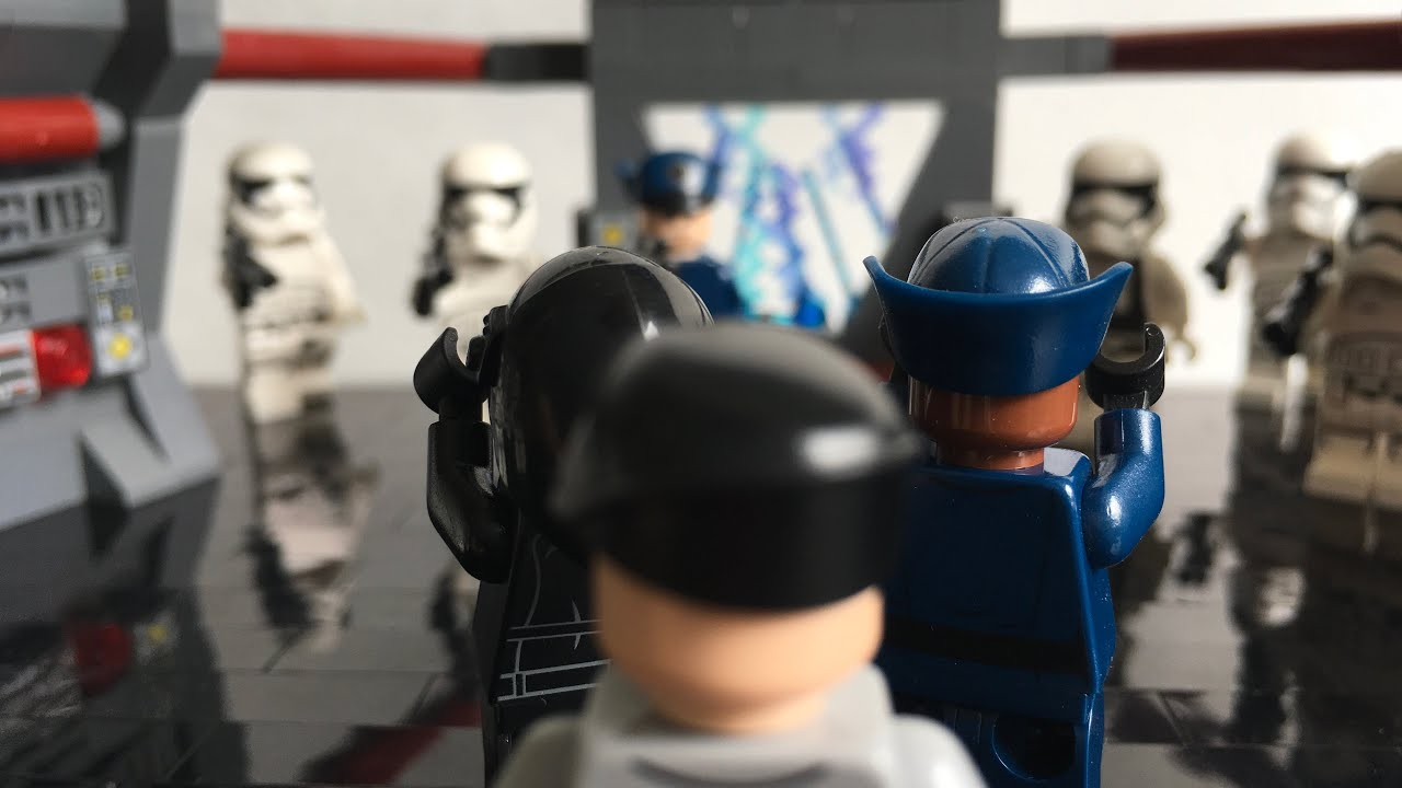 Lego Star Wars First Order MOC - The Tracking Room