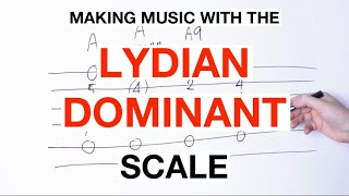 How To Make Music With The LYDIAN DOMINANT Scale On Your Guitar