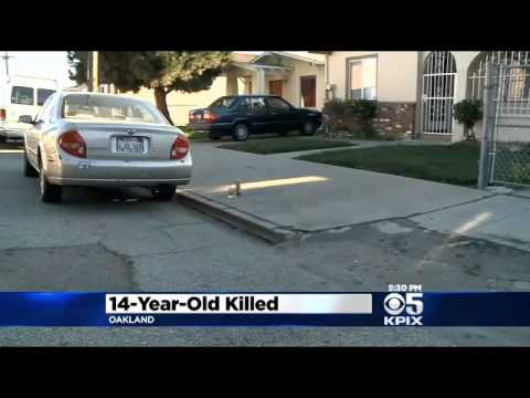 $20,000 reward for information in Teen murder In Oakland Shooting