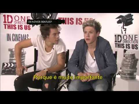 One Direction Interview for CQC Brasil