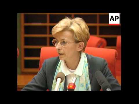 LUXEMBOURG: PRESS CONFERENCE: EU COMMISSIONER FOR HUMANITARIAN AID