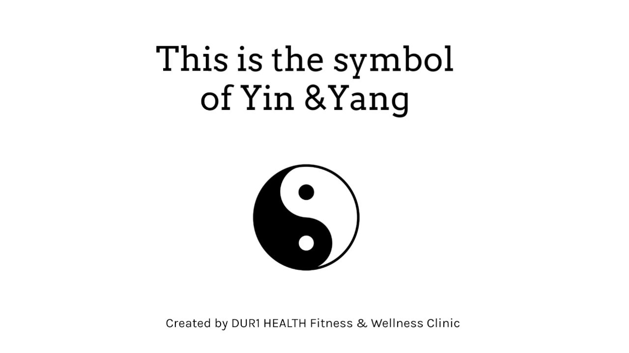 Yin & Yang explained in 60 seconds