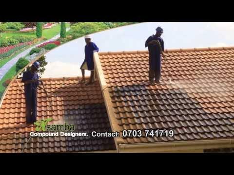 Nsamba roof tile cleaners in Uganda