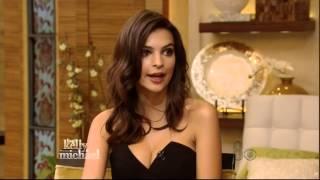 EMILY RATAJKOWSKI 23 FIRST NATIONAL NETWORK TV FULL INTERVIEW 10 3 14 PART 2 of 2