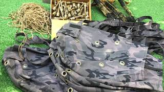 กระเป๋าใสไก่ต่อ -ไก่ป่า เชือกมัดขาไก่ 0937730398ร้านบังดุล