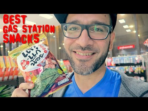 BEST COFFEE And GAS STATION FOOD in BANGKOK | BANGKOK Trip Pt 4