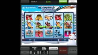 Как играть в игровой автомат Winter Games. Видео для обучения.