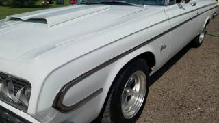 1964 Plymouth Belvedere for sale Auto appraisal $34,500.00 O/B 810-691-2664