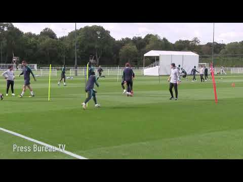 Tottenham Training pre Barcelona
