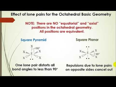 how to make octahedral geometry in chem3d