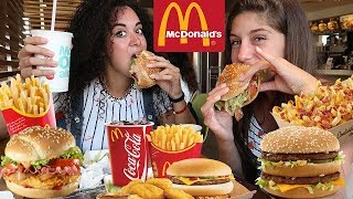 MUKBANG MC DONALD'S - Mangiamo al Mc Donald's
