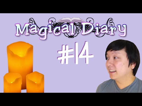 CANDLE MAKING | Magical Diary | #14