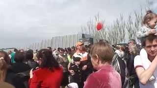 Саур-Могила 8,05,2015 Перед праздником 70 летия Великой Победы 3