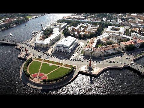 полет над Санкт - Петербургом