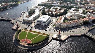 полет над Санкт   Петербургом