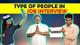 Types Of People in Job Interview | The Half-Tic...
