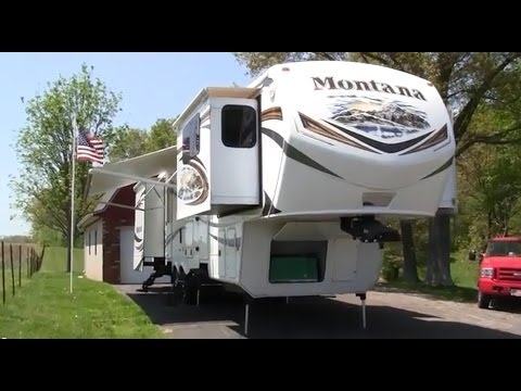2013 Keystone Montana 3750fl Front Living Room Fifth Wheel Walk Around Video Youtube