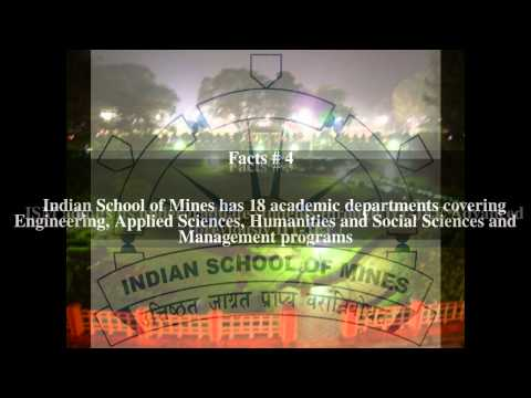 Indian School of Mines Top # 5 Facts