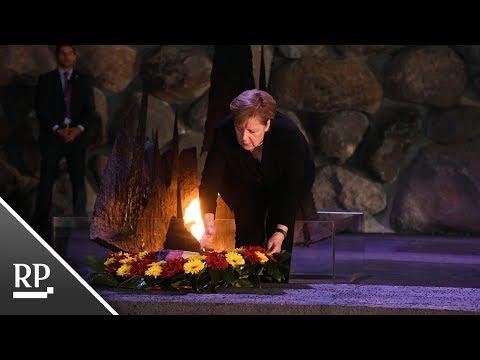 Regierungsgespräche in Israel: Merkel besucht Holocaust-Gedenkstätte
