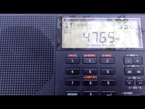 Tajik Radio 1 - Dushanbe, Tajikistan 4765 kHz (20/05/17)